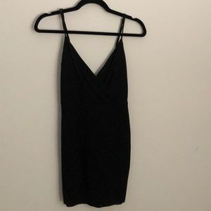 Lulu's Black Bodycon Dress